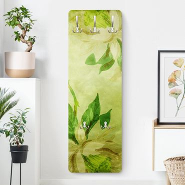 Garderobe Vintage - Green Blossoms - Grün