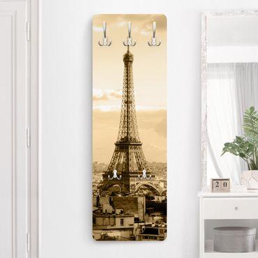 Garderobe Vintage - I Love Paris - Beige