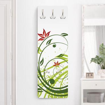 Garderobe Weiß - April - Landhaus