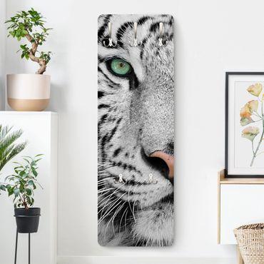Garderobe - Weißer Tiger
