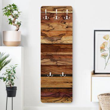Garderobe - Woody Flamed - Holz Optik Rustikal Landhaus