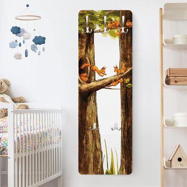 Garderobe - Zuhause der Einhörnchen