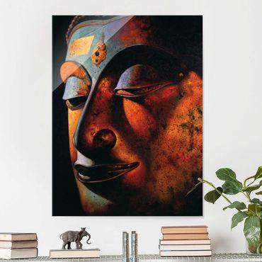 Glasbild - Bombay Buddha - Hoch 3:4