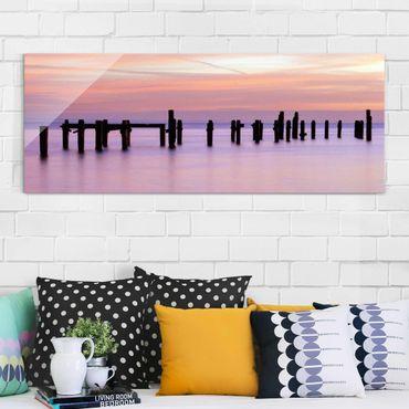 Glasbild - Meeresromantik - Panorama Quer
