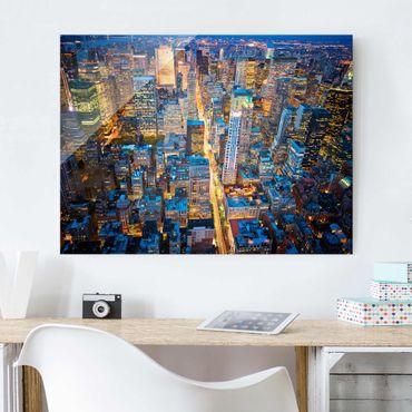 Glasbild - Midtown Manhattan - Quer 4:3