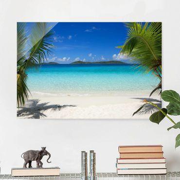 Glasbild - Perfect Maledives - Quer 3:2