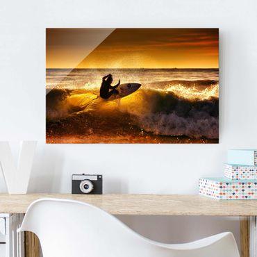 Glasbild - Sun, Fun and Surf - Quer 3:2