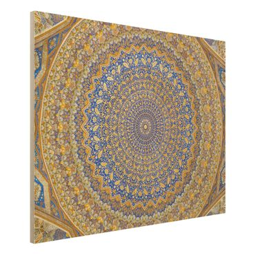 Holzbild - Dome of the Mosque - Quer 4:3