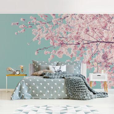 Fototapete - Japanische Kirschblüte