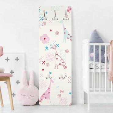 Kindergarderobe - Dreaming Giraffe - Kinderzimmer
