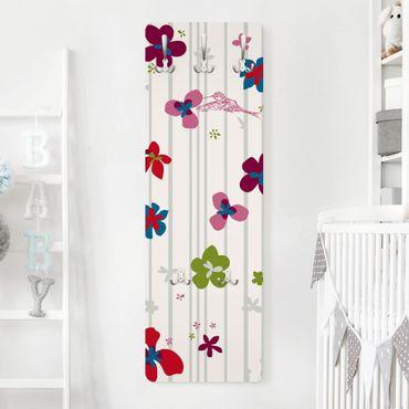 Kindergarderobe - Floral Pattern - Kinderzimmer