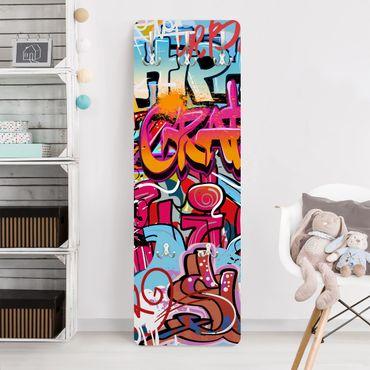 Kindergarderobe - HipHop Graffiti - Kinderzimmer