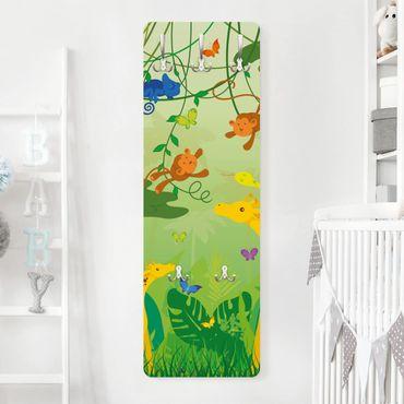 Kindergarderobe - No.IS87 Dschungelspiel - Kinderzimmer