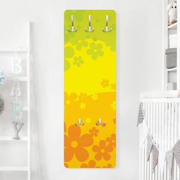 Kindergarderobe - Sunny - Kinderzimmer Gelb