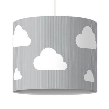 Hängelampe - Wolken Grau
