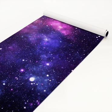 Klebefolie - Galaxie - Bastelfolie selbstklebend