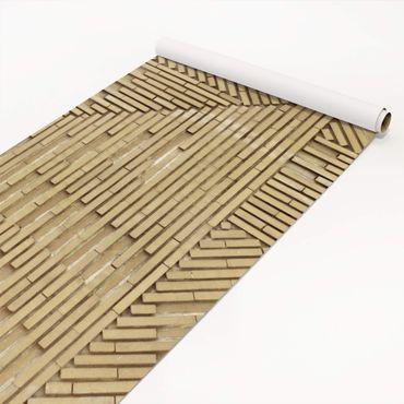Klebefolie Steinoptik - Design Klinker natur - Backsteinfolie