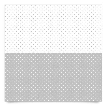 Klebefolien gepunktet - Punktmuster Set in grau und weiss - Dekofolie