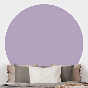 Runde Tapete selbstklebend - Lavendel