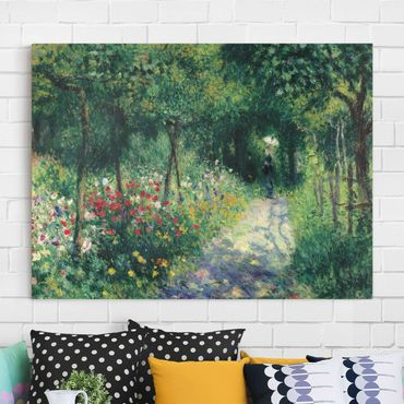 Leinwandbild - Auguste Renoir - Frauen im Garten - Quer 4:3