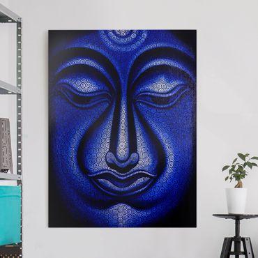 Leinwandbild - Buddha in Nepal - Hoch 3:4