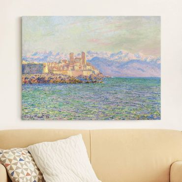 Leinwanddruck Claude Monet - Gemälde Antibes, Le Fort - Kunstdruck Quer 4:3 - Impressionismus