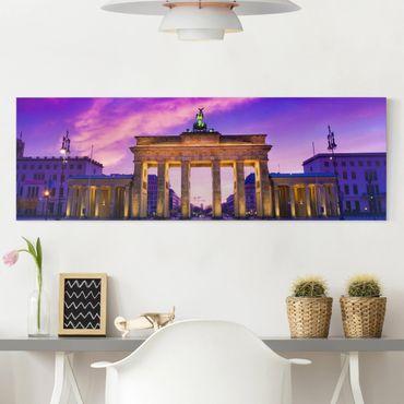 Leinwandbild - Das ist Berlin! - Panorama Quer