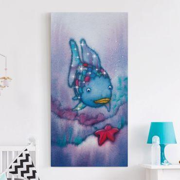 Leinwandbild - Der Regenbogenfisch - Der Seestern - Hoch 1:2