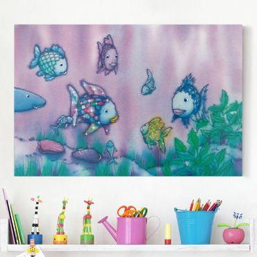 Leinwandbild - Der Regenbogenfisch - Unterwasserparadies - Quer 3:2