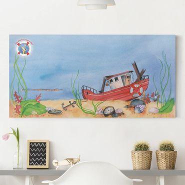 Leinwandbild - Die kleine Seenadel© Entdeckungstour - Panorama Quer