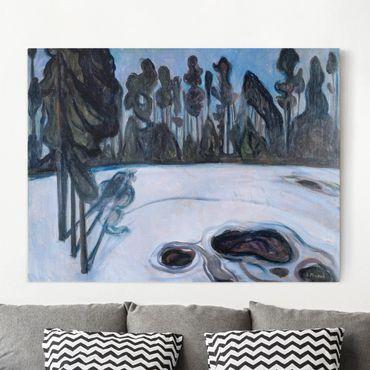 Leinwandbild - Edvard Munch - Sternennacht - Quer 4:3