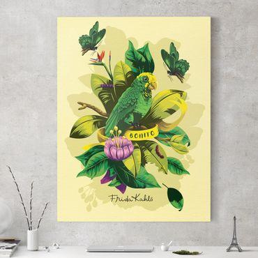 Leinwandbild - Frida Kahlo - Bonito - Hochformat 3:4