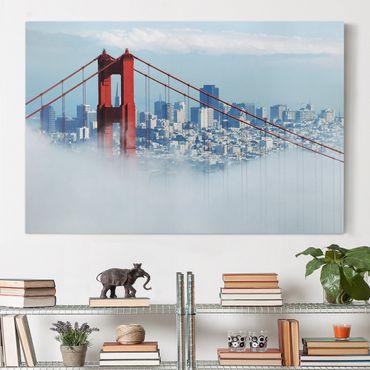 Leinwandbild - Good Morning, San Francisco! - Quer 3:2