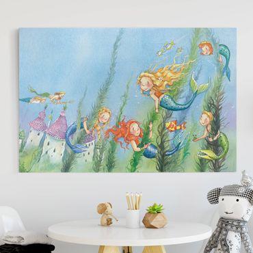 Leinwandbild - Matilda, die Meerjungfrauenprinzessin - Quer 3:2