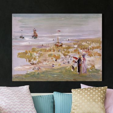 Leinwandbild - Max Liebermann - Der Strand, Scheveningen - Quer 4:3