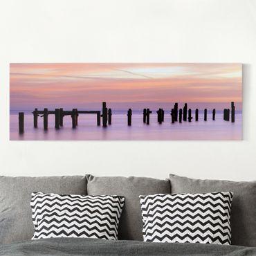 Leinwandbild - Meeresromantik - Panorama Quer