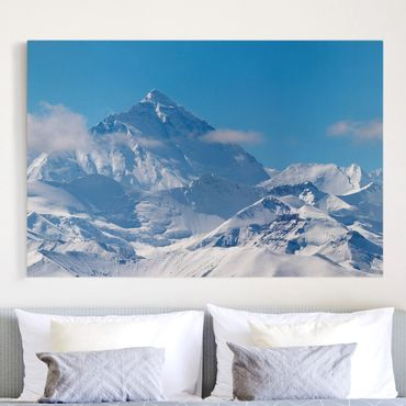 Leinwandbild - Mount Everest - Quer 3:2