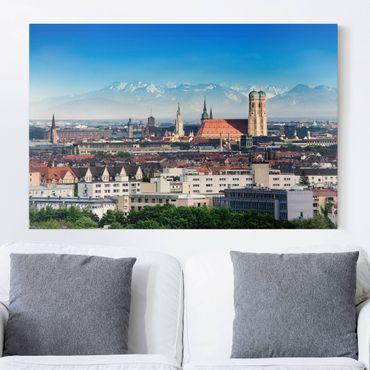 Leinwandbild - München - Quer 3:2