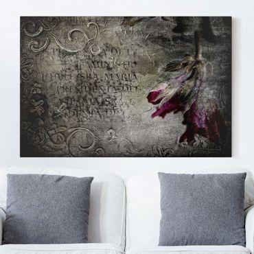 Leinwandbild - Mystic Flower - Quer 3:2