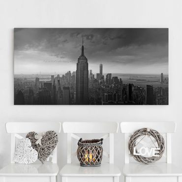 Leinwandbild - New York Rockefeller View - Quer 2:1