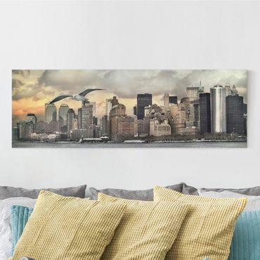 Leinwandbild - No.YK1 New York - Panorama Quer