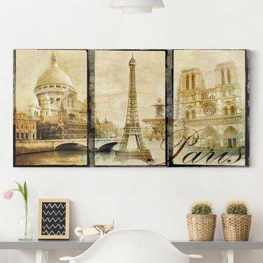 Leinwandbild - Paris Mon Amour - Quer 2:1