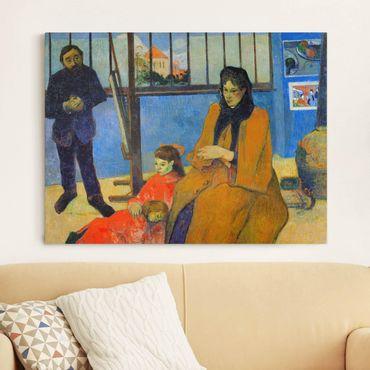 Leinwandbild - Paul Gauguin - Die Familie Schuffenecker - Quer 4:3
