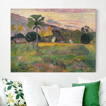 Leinwandbild - Paul Gauguin - Haere mai (Komm her) - Quer 4:3