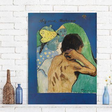 Leinwandbild - Paul Gauguin - Nègreries Martinique - Hoch 3:4
