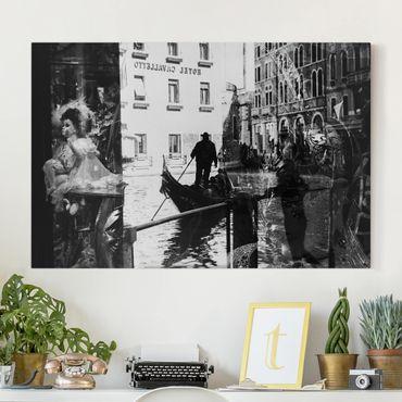 Leinwandbild - Venice Reflections - Quer 3:2