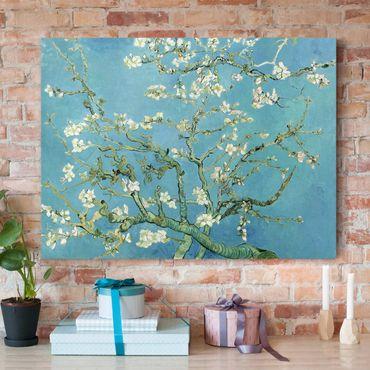 Leinwandbild - Vincent van Gogh - Mandelblüte - Quer 4:3