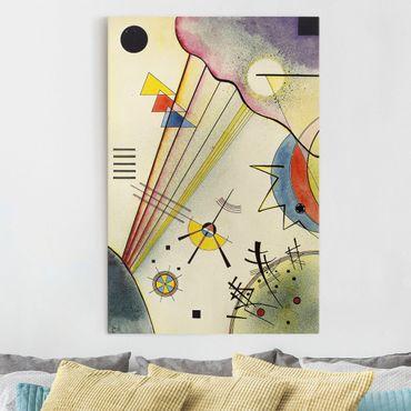 Leinwandbild - Wassily Kandinsky - Deutliche Verbindung - Hoch 2:3