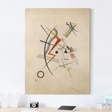 Leinwandbild - Wassily Kandinsky - Jahresgabe für die Kandinsky-Gesellschaft - Hoch 3:4