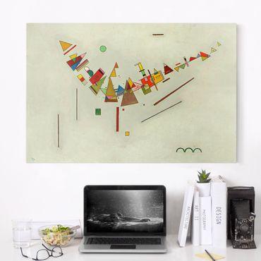 Leinwandbild - Wassily Kandinsky - Winkelschwung - Quer 3:2